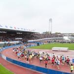 Olympic Stadium start TCS Amsterdam Marathon01
